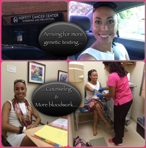 My recent trip to Moffitt Cancer Centers for more genetic testing & counseling...