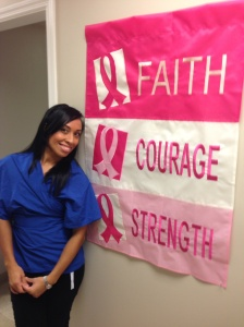Faith, courage, strength.... 3 very powerful words