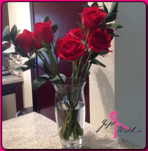 Flowers from my love :)
