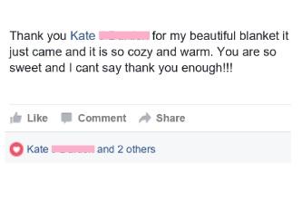 Krista- Thank You Kate
