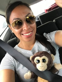Coqui the traveling monkey <3 :D